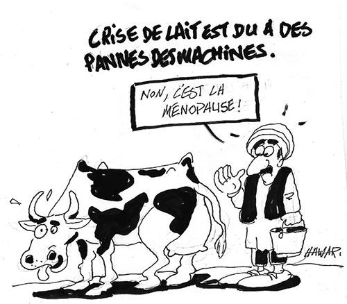 La crise de lait est due à des pannes de machines - Hawari - La Tribune des Lecteurs - Gagdz.com