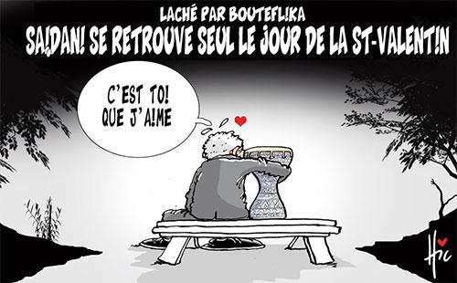 Laché par Bouteflika: Saidani se retrouve seul le jour de la st-valentin - Le Hic - El Watan - Gagdz.com