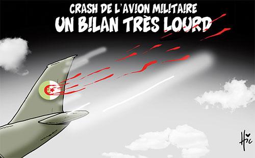 Crash de l'avion militaire: Un bilan très lourd - Le Hic - El Watan - Gagdz.com