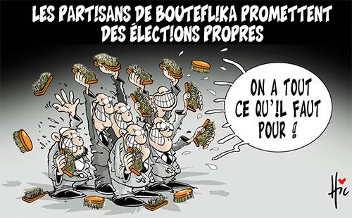 Les partisans de Bouteflika promettent des élections propres - Le Hic - El Watan - Gagdz.com