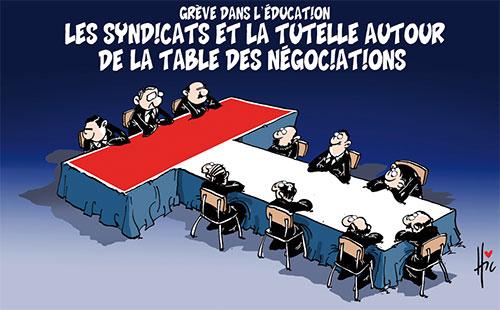 Grève dans l'éducation: Les syndicats et la tutelle autour de la table des négociations - Le Hic - El Watan - Gagdz.com