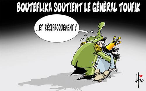 Bouteflika soutient le général Toufik - Le Hic - El Watan - Gagdz.com