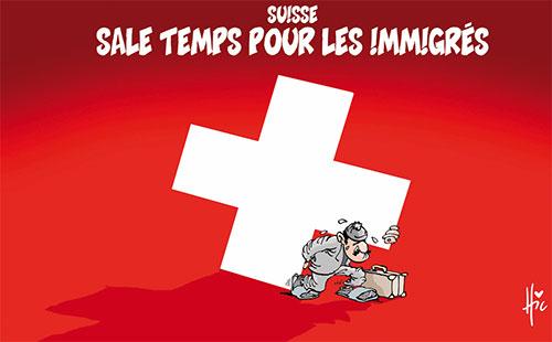 Suisse: Sale temps pour les immigrés - immigrés - Gagdz.com