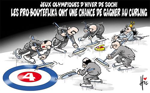 Jeux olympiques d'hiver de Sotchi: Les pro-Bouteflika ont une chance de gagner au curling - Le Hic - El Watan - Gagdz.com