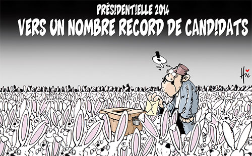 Présidentielle 2014: Vers un nombre record de candidats - nombre - Gagdz.com