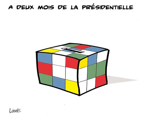 A deux mois de la présidentielle - Lounis Le jour d'Algérie - Gagdz.com