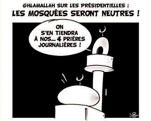 Ghlamallah sur les présidentielles: Les mosquées seront neutres - Présidentielles - Gagdz.com