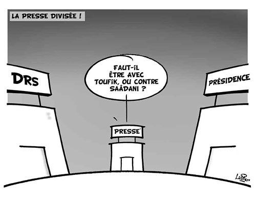 La presse divisée - presse - Gagdz.com