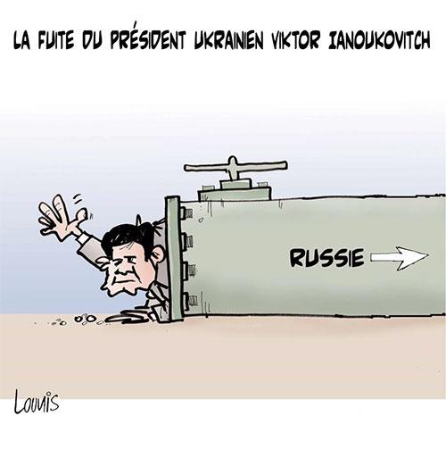 La fuite du président ukrainien Viktor Ianoukovitch - Lounis Le jour d'Algérie - Gagdz.com