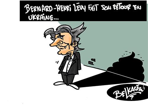 Bernard-Henry Levy fait son retour en Ukraine - Ukraine - Gagdz.com