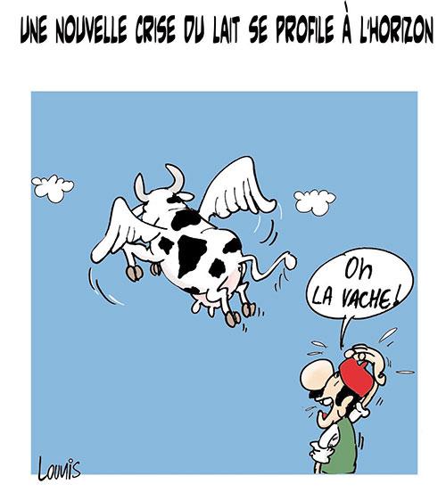 Une nouvelle crise du lait se profile à l'horizon - Lounis Le jour d'Algérie - Gagdz.com