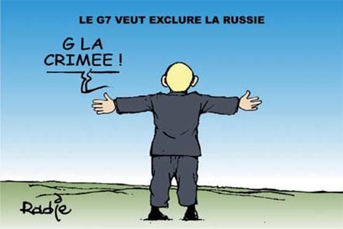 Le G7 veut exclure la Russie - Russie - Gagdz.com
