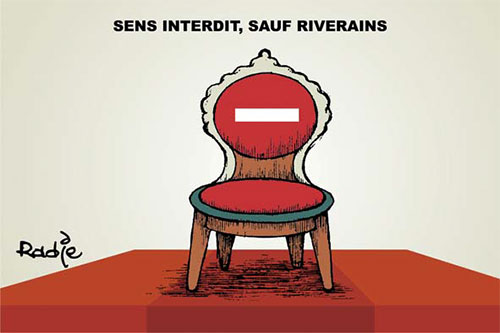 Sens interdit, sauf riverains - Ghir Hak - Les Débats - Gagdz.com