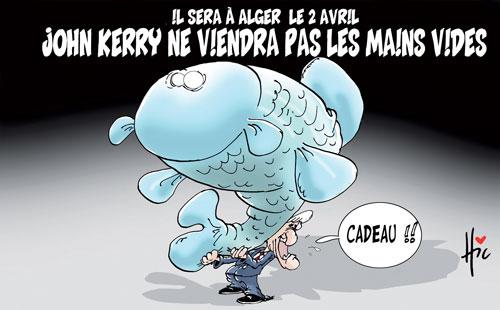 Il sera à Alger le 2 avril: John Kerry ne viendra pas les mains vides - Le Hic - El Watan - Gagdz.com