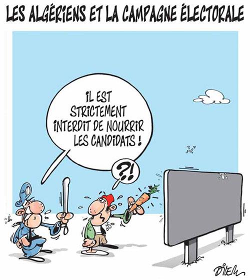 Les Algériens et la campagne électorale - Dilem - Liberté - Gagdz.com