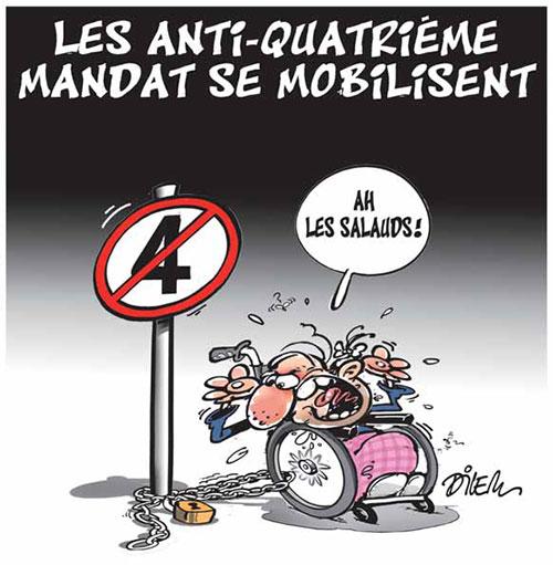 Les anti-quatrième mandat se mobilisent - Dilem - Liberté - Gagdz.com
