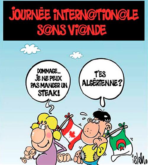 Journée internationale sans viande - Islem - Le Temps d'Algérie - Gagdz.com