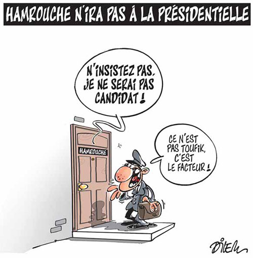 Hamrouche n'ira pas à la présidentielle - Dilem - Liberté - Gagdz.com
