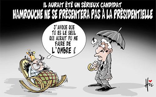 Il aurait été un sérieux candidat: Hamrouche ne se présentera pas à la présidentielle - Le Hic - El Watan - Gagdz.com