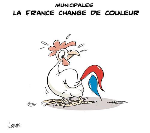 Municipales: La France change de couleur - Lounis Le jour d'Algérie - Gagdz.com