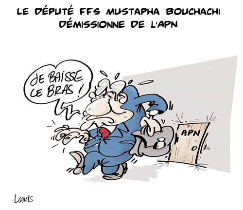Le député FFS Mustapha Bouchachi démissionne de l'APN - Lounis Le jour d'Algérie - Gagdz.com