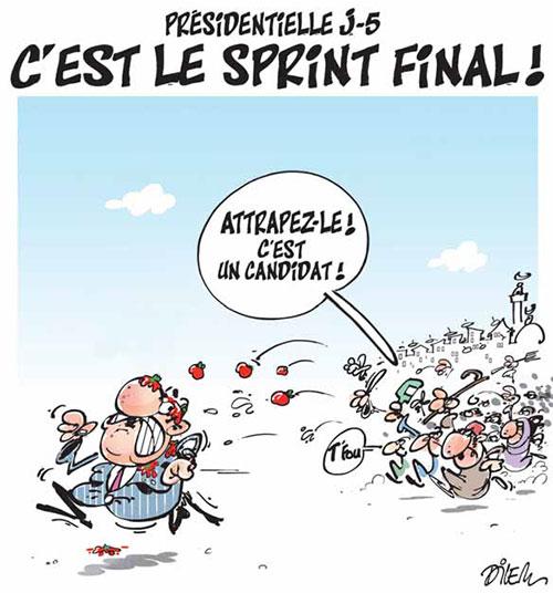 Présidentielle j-5: C'est le sprint final - Dilem - Liberté - Gagdz.com