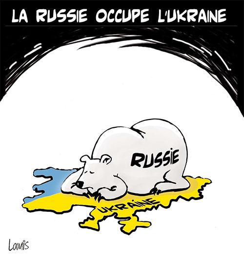 La Russie occupe l'Ukraine - Ukraine - Gagdz.com
