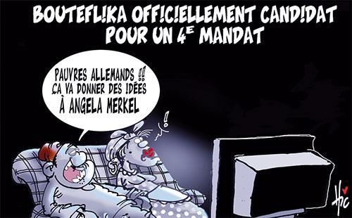 Bouteflika officiellement candidat pour un 4e mandat - Le Hic - El Watan - Gagdz.com