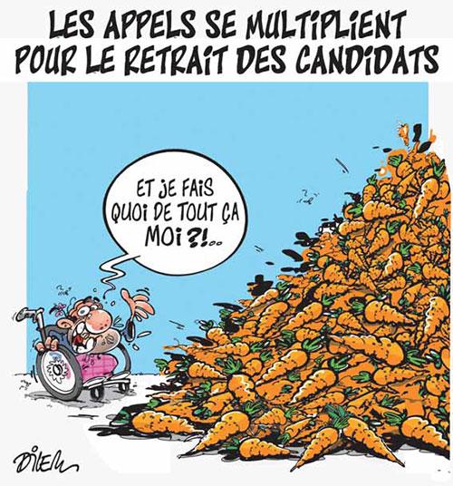 Les appels se multiplient pour le retrait des candidats - Dilem - Liberté - Gagdz.com