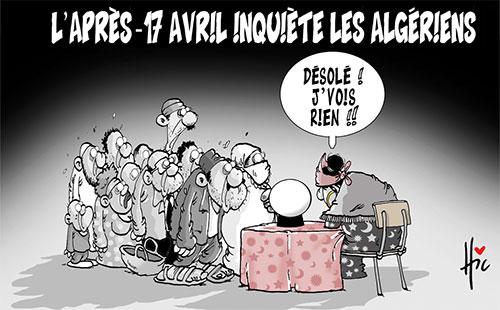L'après-17 avril inquiète les algériens - Présidentielles - Gagdz.com