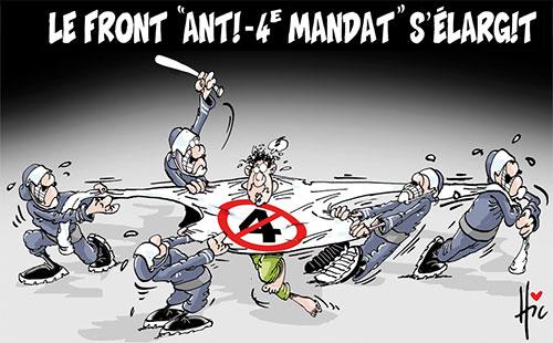 Le front anti-4e mandat s'élargit - Le Hic - El Watan - Gagdz.com
