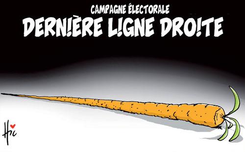 Campagne électorale: Dernière ligne droite - Le Hic - El Watan - Gagdz.com