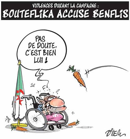 Violences durant la campagne: Bouteflika accuse Benflis - Benflis - Gagdz.com