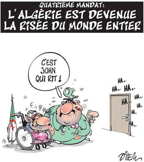 Quatrième mandat: L'Algérie est devenue la risée du monde entier - Dilem - Liberté - Gagdz.com