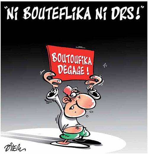 Ni Bouteflika ni drs - Dilem - Liberté - Gagdz.com