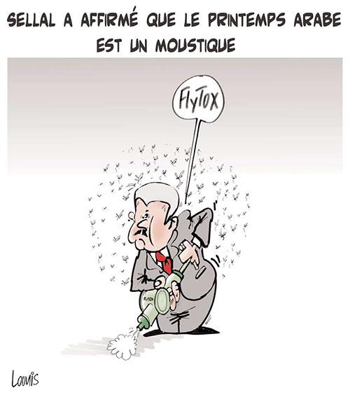 Sellal a affirmé que le printemps arabe est un moustique - Lounis Le jour d'Algérie - Gagdz.com