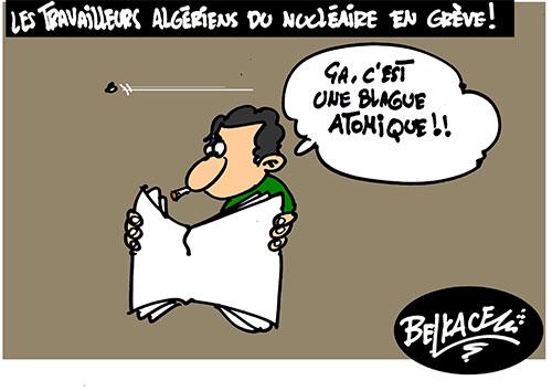 Les travailleurs algériens du nucléaire en grève - Belkacem - Le Courrier d'Algérie - Gagdz.com