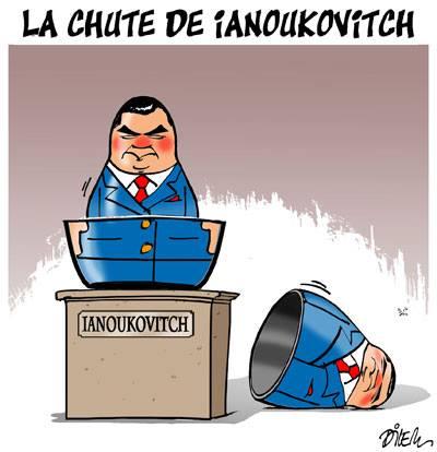 La chute de Ianokovitch - Ukraine - Gagdz.com