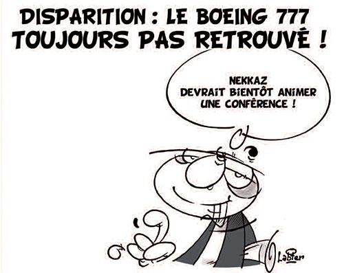 Disparition: Le boeing 777 toujours pas retrouvé - Vitamine - Le Soir d'Algérie - Gagdz.com