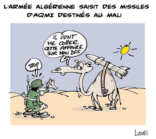 L'armée algérienne saisit des missiles d'aqmi destinés au Mali - Lounis Le jour d'Algérie - Gagdz.com