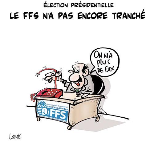 Election présidentielle: Le FFS n'a pas encore tranché - Lounis Le jour d'Algérie - Gagdz.com