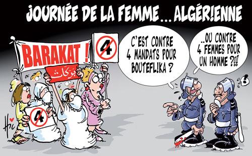 Journée de la femme algérienne - Le Hic - El Watan - Gagdz.com
