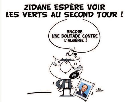 Zidane espère voir les verts au second tour - Vitamine - Le Soir d'Algérie - Gagdz.com
