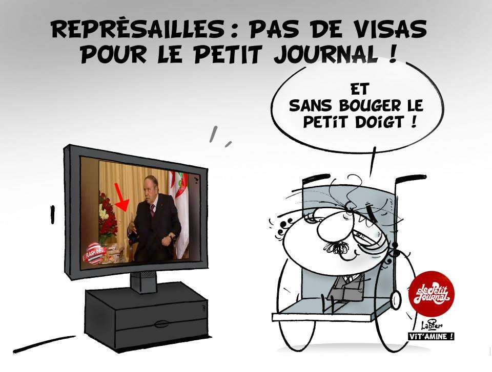 Représailles : Pas de visa pour le petit Journal de Canal + - Vitamine - Le Soir d'Algérie - Gagdz.com