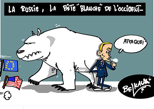 La Russie, la bête blanche de l'occident - Russie - Gagdz.com