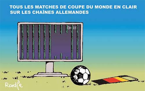 Tous les matches de coupe du monde en clair sur les chaînes allemandes - Ghir Hak - Les Débats - Gagdz.com