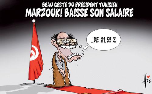 Beau geste du président tunisien: Marzouki baisse son salaire - Le Hic - El Watan - Gagdz.com