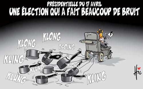 Présidentielle du 17 avril: Une élection qui a fait beaucoup de bruit - Le Hic - El Watan - Gagdz.com