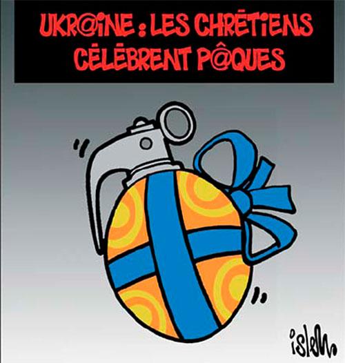 Ukraine: Les chrétiens célèbrent pâques - Chrétiens - Gagdz.com