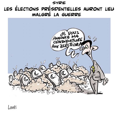 Syrie: Les élections présidentielles auront lieu malgré la guerre - Lounis Le jour d'Algérie - Gagdz.com